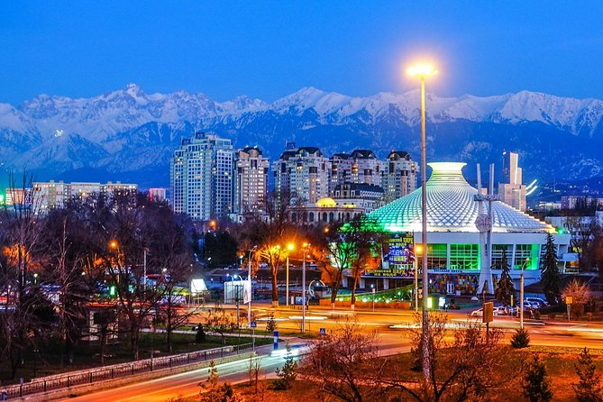 Almaty the city of thousand colors (4 days)