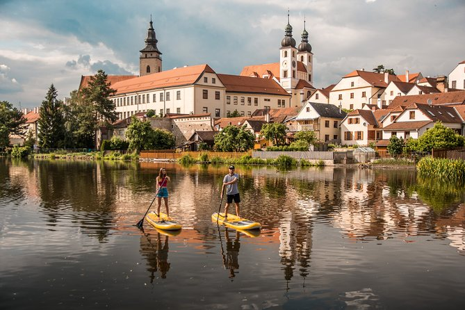 Small-Group SUP Paddle Boarding Experience in Telč