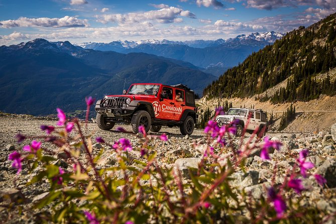 Blackcomb Glacier Safari by 4x4