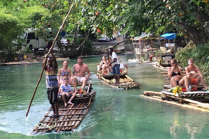 Blue Hole & River Rafting From Ocho Rios