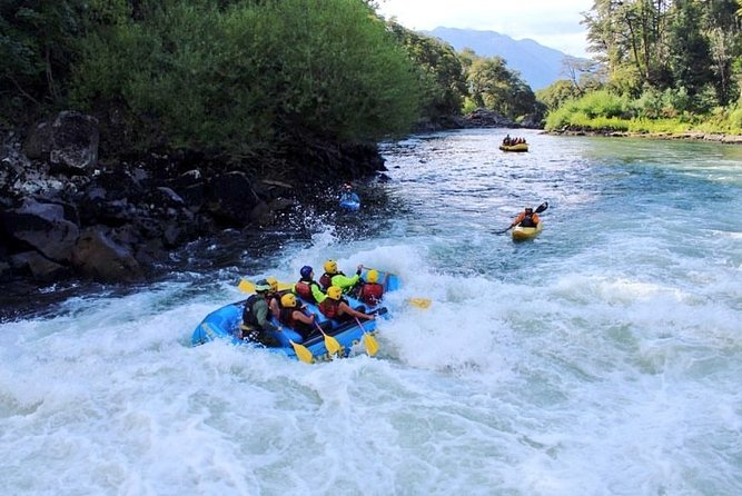 Private Full Day Rafting and Wine From Santiago
