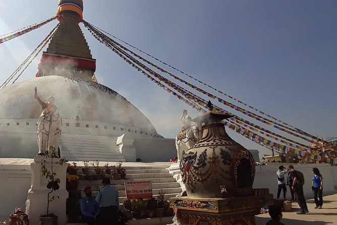 Visit Swayambhunath and Bauddhanath Stupa with Guide