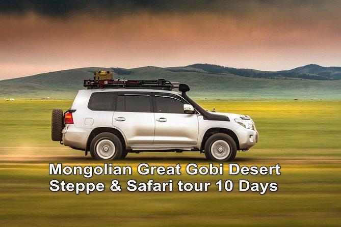 Mongolian Great Gobi Desert , Steppe & Safari tour 10 days