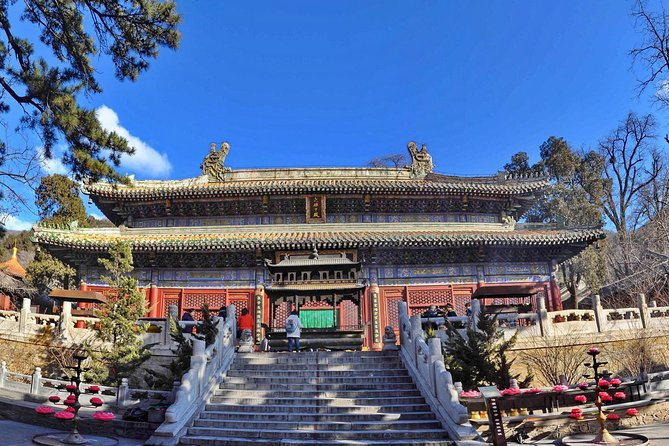 Private Day Tour to Stone Flower Cave, Tanzhe Temple & Jietai Temple