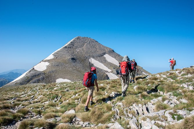 Full-Day Hiking Mount Taygetos Summit with Picnic