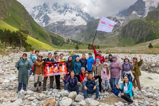 Across North Caucasus in 8 days. Culture, Mounts & Local food (group 4-10 prs)