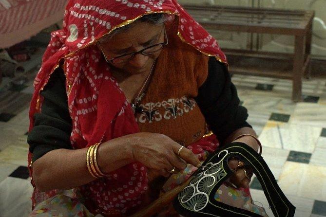 Royal Mojari Footwear Craft Making Live Experience in Jodhpur