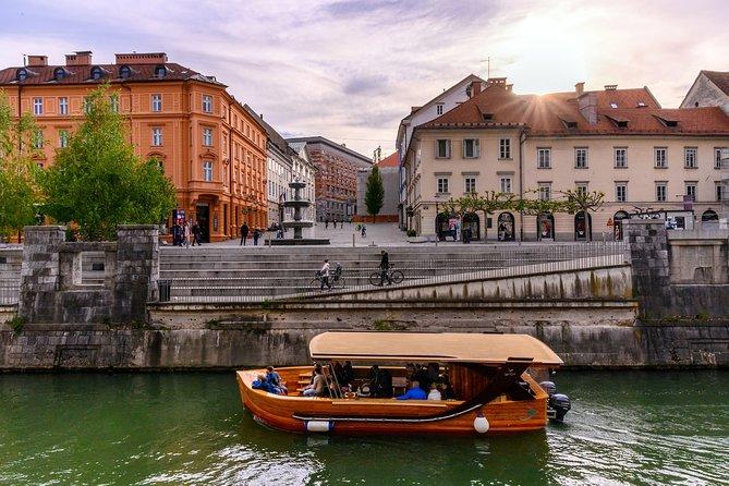 Ljubljana city walk | Private off cruise excursion from Koper