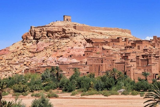 Private day trip from Marrakech to Ouarzazate and Ait-ben-hadou