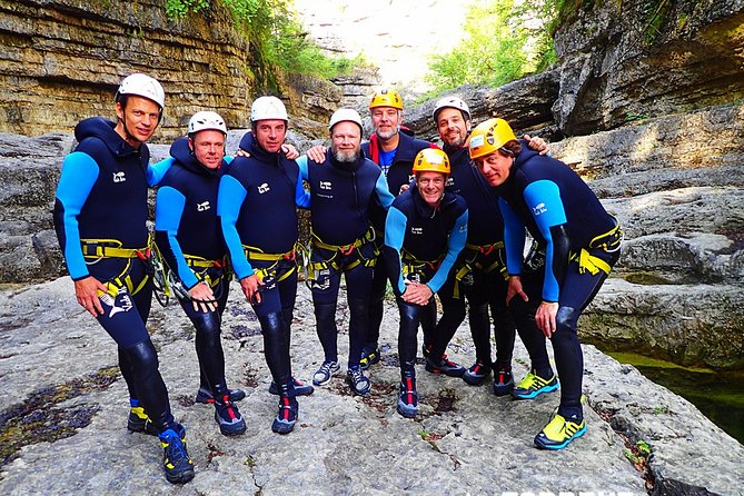 Canyoning in Almbach with a state-certified guide