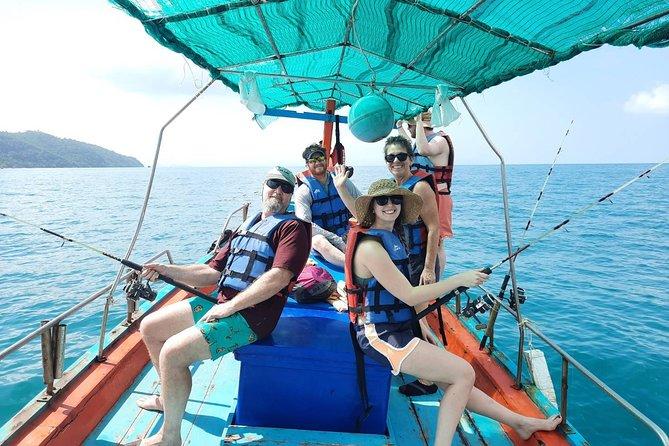 Fishing and Snorkeling Trip at Koh Tan & Koh Madsum From Koh Samui