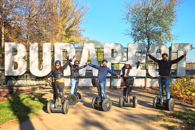 Budapest ♥Highlights♥ 2.5-Hour Live-Guided Segway Tour