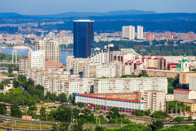 The best of Krasnoyarsk walking tour