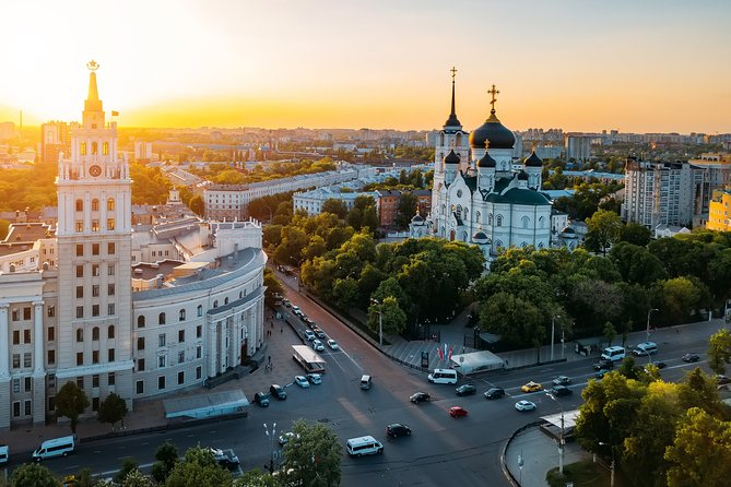 The best of Voronezh walking tour