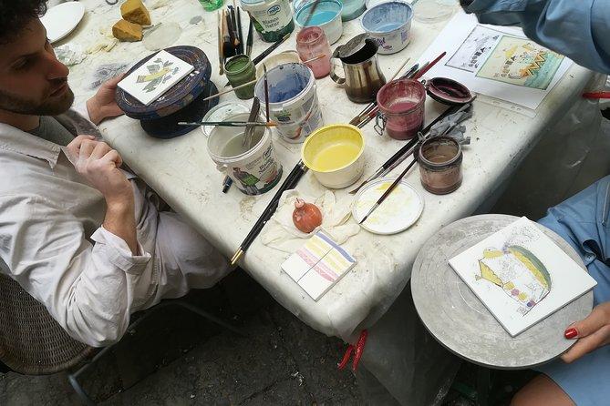 Private Ceramic Workshop in Vietri Sul Mare