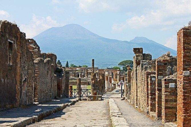 Pompeii-Vesuvius Combined Tour