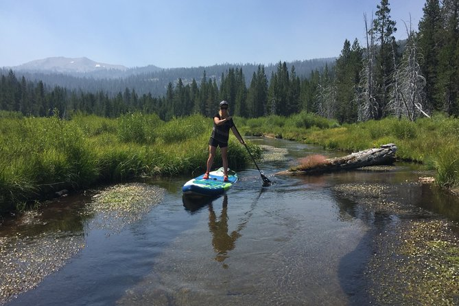 Stand Up Paddle boarding Hat Creek
