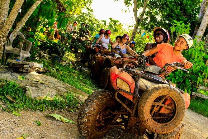 ATV´s, Ziplines and Cenote Swim Adventure from Cancun or Riviera Maya