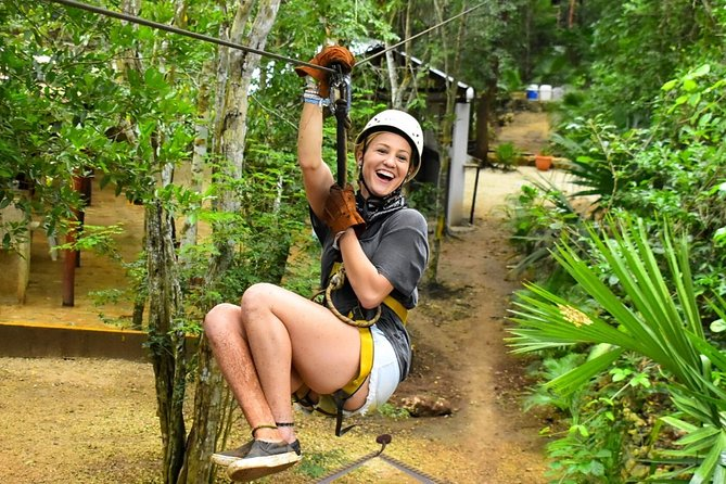 ATV, Ziplines and Cenote swim experience from Cancun or Riviera Maya