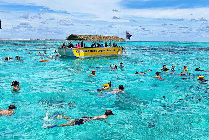 Half-Day Muri Lagoon BBQ Lunch Cruise including Snorkeling