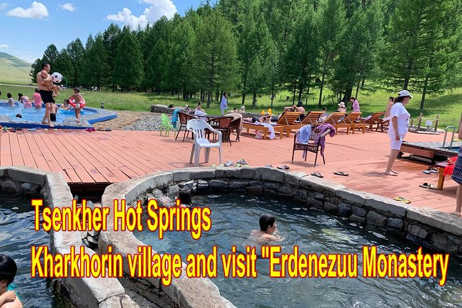 Kharkhorum, Tsenkher Hot Spring and Khustai National Park Tour 8Days