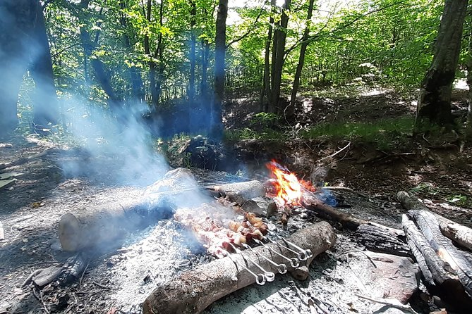Barbecue in the forest near Tbilisi