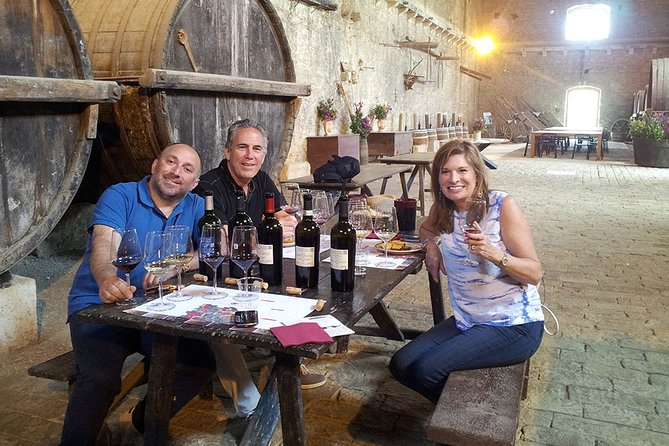 Tour of Sicily with driver, cooking class, visit winery and tourist guides