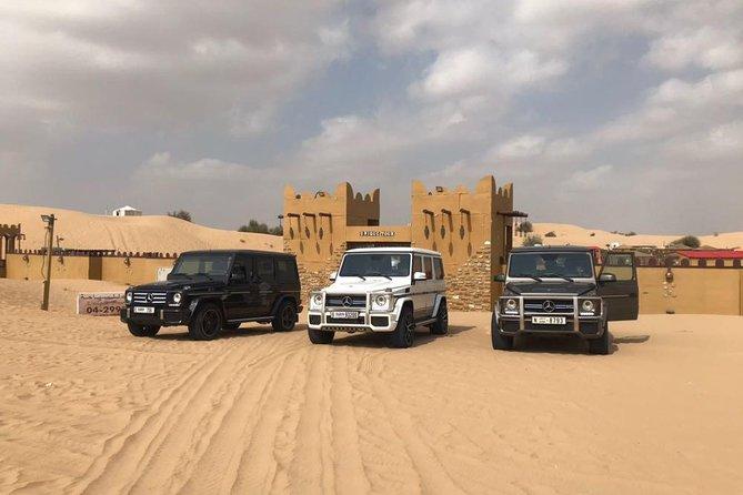 Private Desert Safari in Luxury Vehicle Mercedes G Class