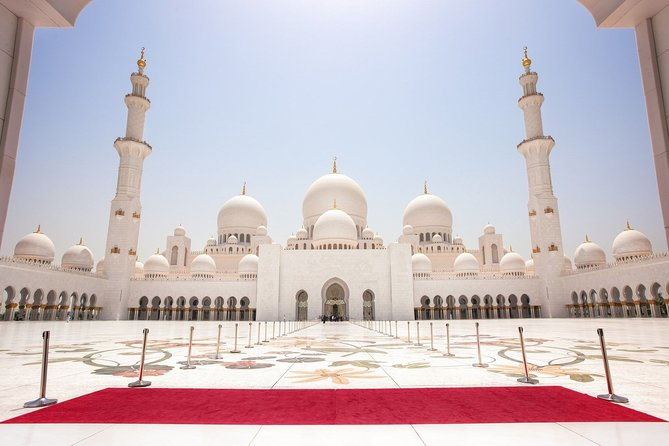 Sheikh Zayed Mosque Entrance