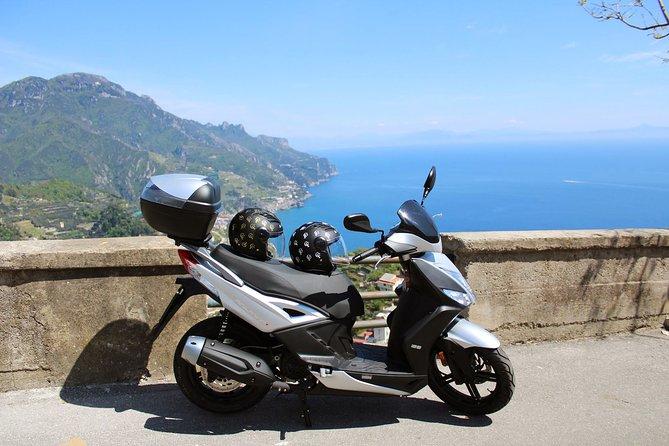 Scooter rental on the Amalfi Coast