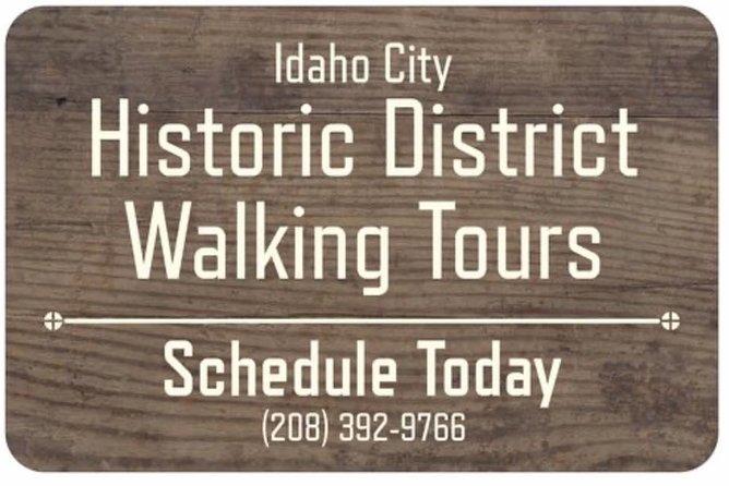 Idaho City Historic District Walking Tour