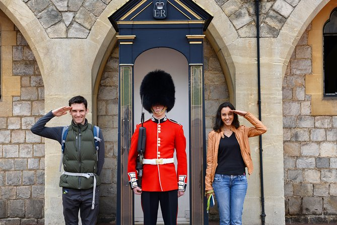 Having a Bit of Fun With The Royal Guard