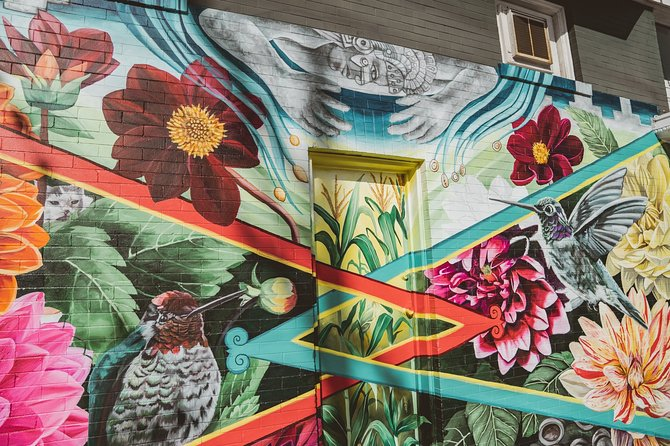 Mission District Street Art and Food Walking Tour
