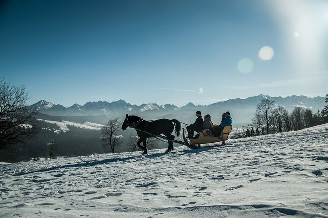 Zakopane and Horse Sleigh Ride in the countryside, private tour from Krakow