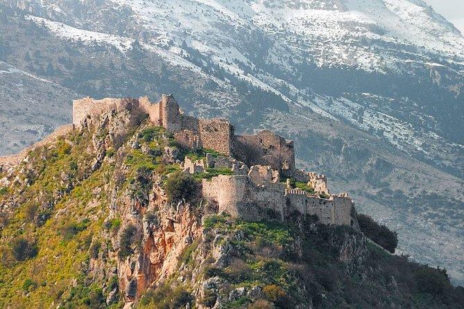 Mystras Half day tour from Neapoli or Elafonisos