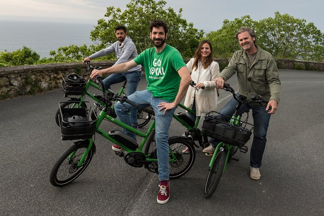 Small-Group Electric Bike Tour in San Sebastián
