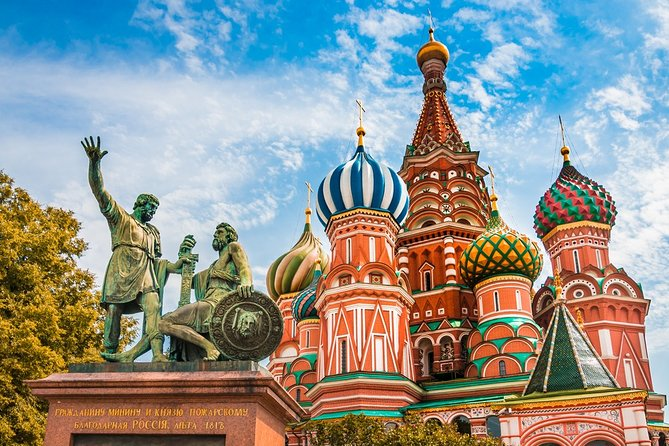 Private Half-Day Moscow City Centre Walking Tour
