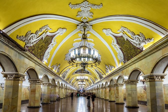 Private Moscow Underground (Metro) Guided Tour