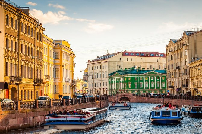 2-Day Shore Excursion in St Petersburg without Museums
