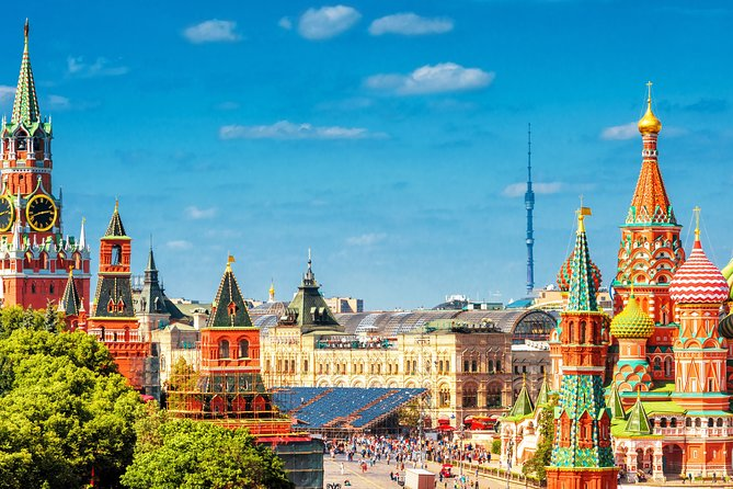 Moscow: Red Square & St Basil's Cathedral Private Tour