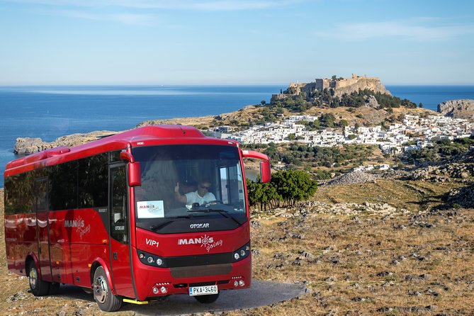 Day Trip to Lindos with pickup from Rhodes, Ixia, Ialyssos, Kallithea, Faliraki