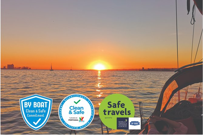 Sunset Sailing Tour in Lisbon on a Luxury Sailing Yacht