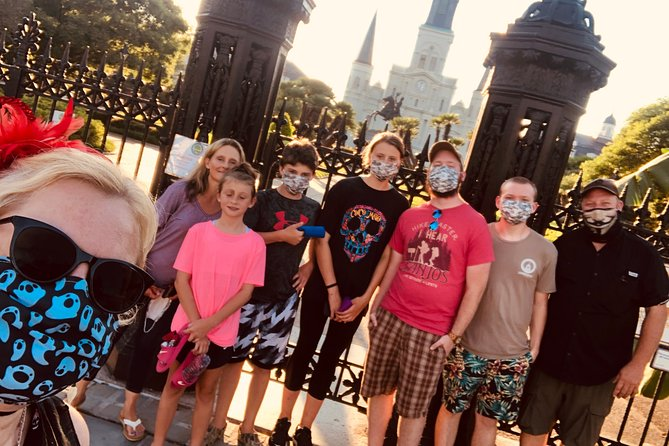 Haunted New Orleans All-Ages Walking Tour