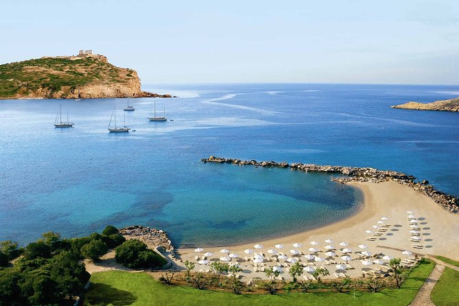 Swimming & Sunbathing by Athenian Riviera + Poseidon Temple Tour By Locals