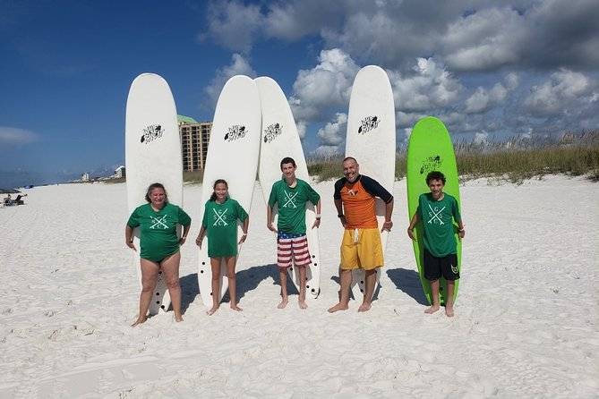 Surf Lessons in Okaloosa Island with Professional Instructor