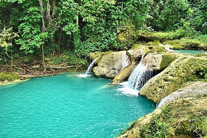 Ultimate Day Tour of the Fantastic Blue Hole and Secret Falls | RoadMap Jamaica