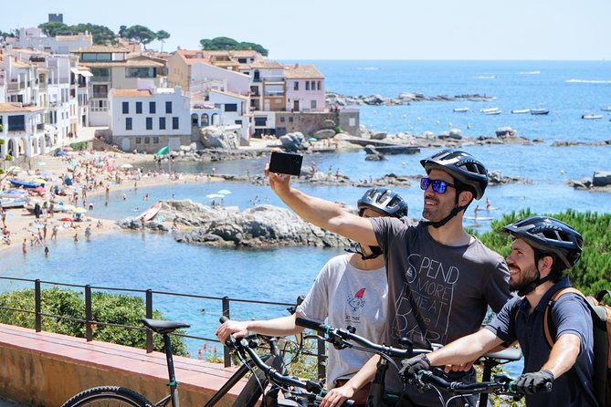 Costa Brava Ebike tour from Barcelona with tapas and wine tasting