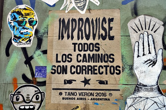 Buenos Aires Private Street Art Tour + Mate experience in Palermo