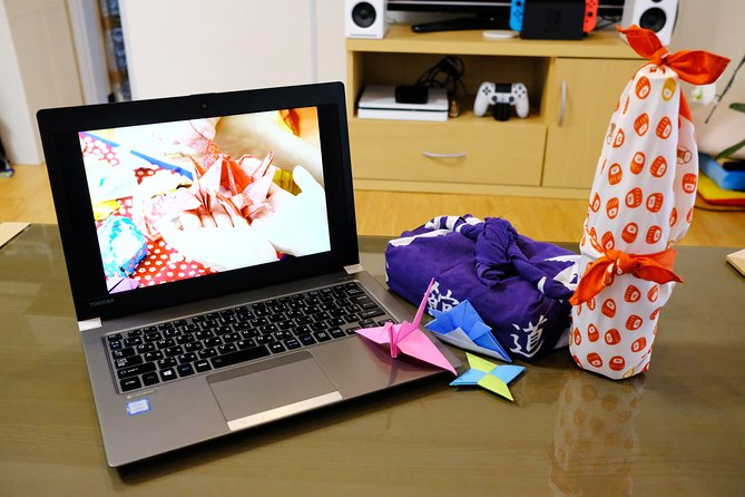 Online Origami & Furoshiki Workshop (Private)