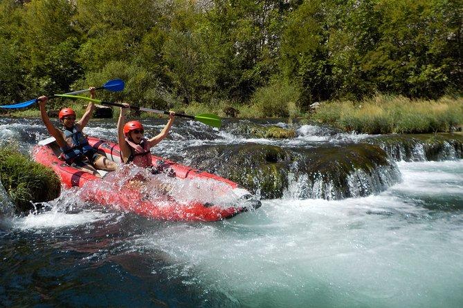 Safari privé en canoë / rafting sur la rivière Zrmanja